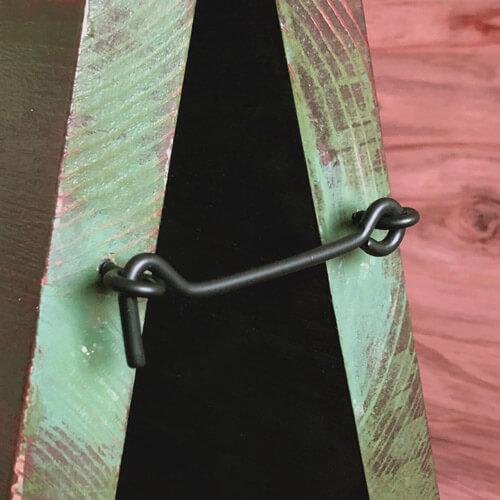 ライン入り木製キャリー看板